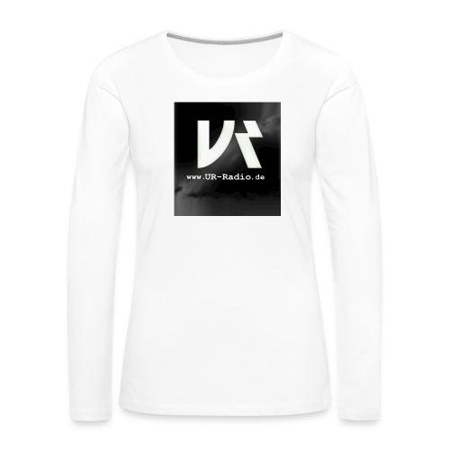 logo spreadshirt - Frauen Premium Langarmshirt