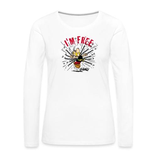 Asterix & Obelix - Asterix 'I'm Free' - T-shirt manches longues Premium Femme