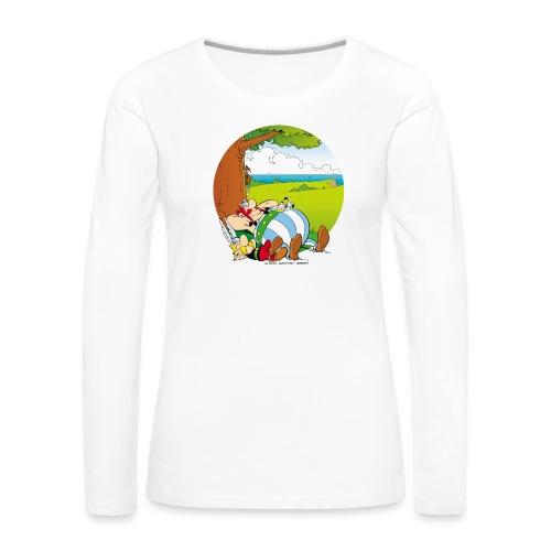 Astérix & Obélix Font Une Sieste - T-shirt manches longues Premium Femme