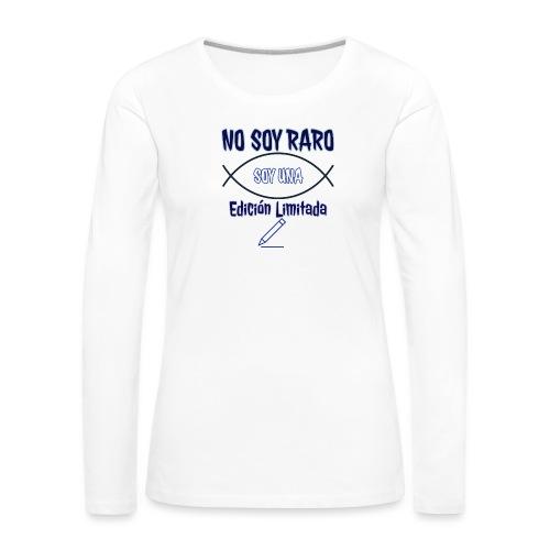 Edicion limitada - Camiseta de manga larga premium mujer