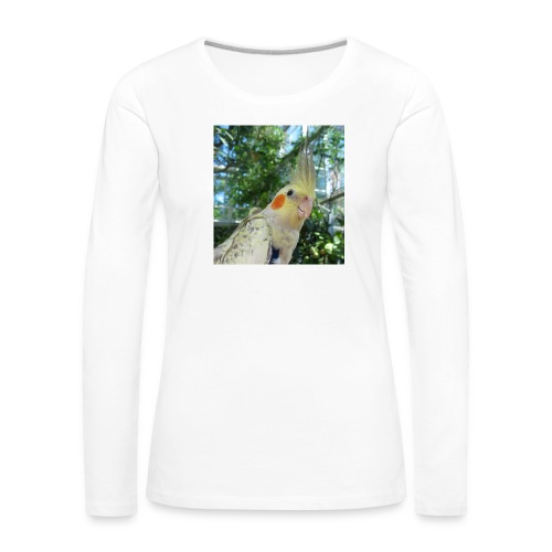 ninjanen - Naisten premium pitkähihainen t-paita