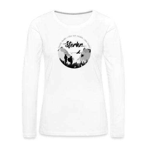 STERKR - Fjordview - Women's Premium Longsleeve Shirt