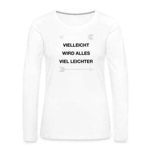 life - Frauen Premium Langarmshirt