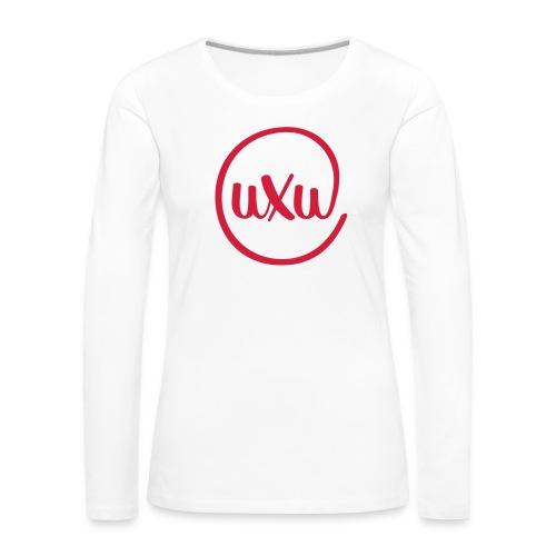 UXU logo round - Women's Premium Longsleeve Shirt