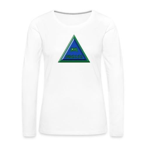 Progamer192 Illuminati t-shirt ( teenager ) - Vrouwen Premium shirt met lange mouwen