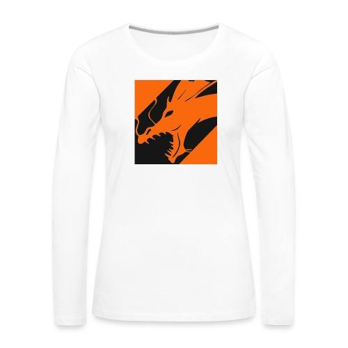 Dragon Orange - Vrouwen Premium shirt met lange mouwen