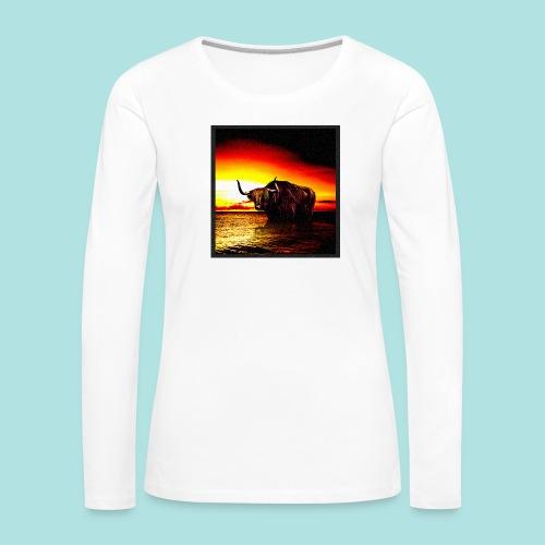 Wandering_Bull - Women's Premium Longsleeve Shirt
