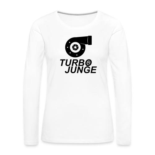 Turbojunge! - Frauen Premium Langarmshirt
