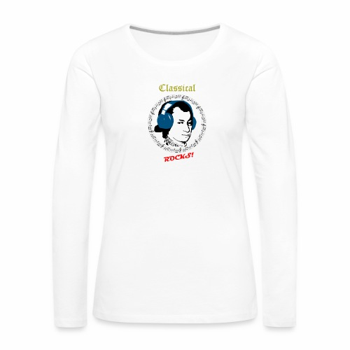 Classical Rocks! - Women's Premium Longsleeve Shirt