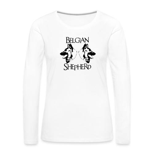 shepperd1 - T-shirt manches longues Premium Femme