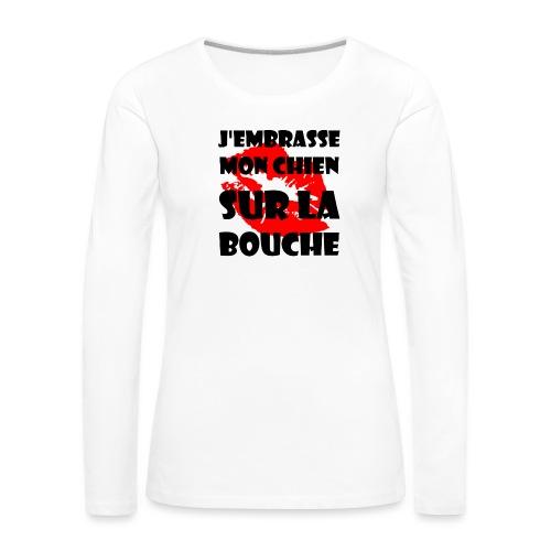 lips - T-shirt manches longues Premium Femme