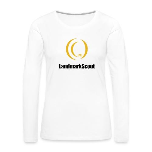 Tshirt White Front logo 2013 png - Women's Premium Longsleeve Shirt