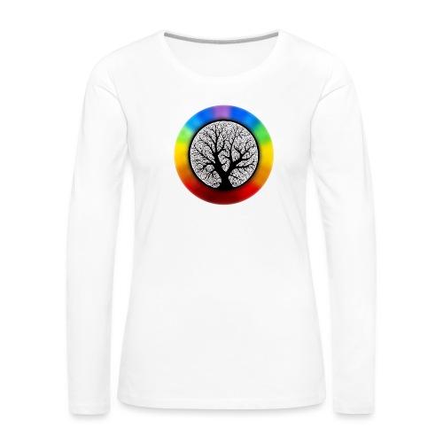 tree of life png - Vrouwen Premium shirt met lange mouwen