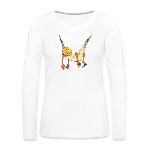 Summertime by Daiv - T-shirt manches longues Premium Femme