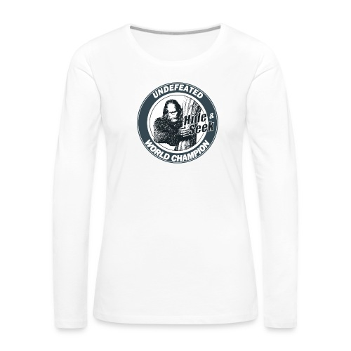 Bigfoot - Women's Premium Longsleeve Shirt