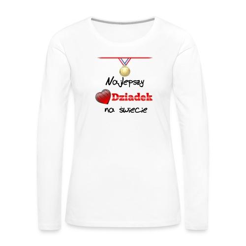 nadruk_rodzinne_01 - Koszulka damska Premium z długim rękawem