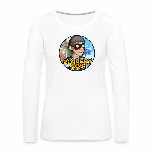 Robbery Bob Button - Women's Premium Longsleeve Shirt