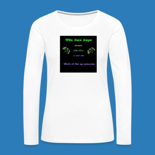 LUISJAKUBINTRO-jpg - Dame premium T-shirt med lange ærmer