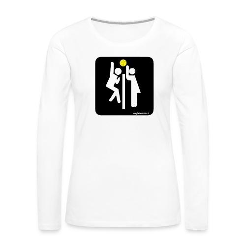 Toilet Volley - Maglietta Premium a manica lunga da donna