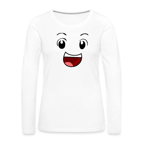 Boyga SMIL - Premium langermet T-skjorte for kvinner