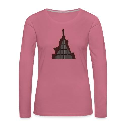 Vraiment, tablette de chocolat ! - T-shirt manches longues Premium Femme