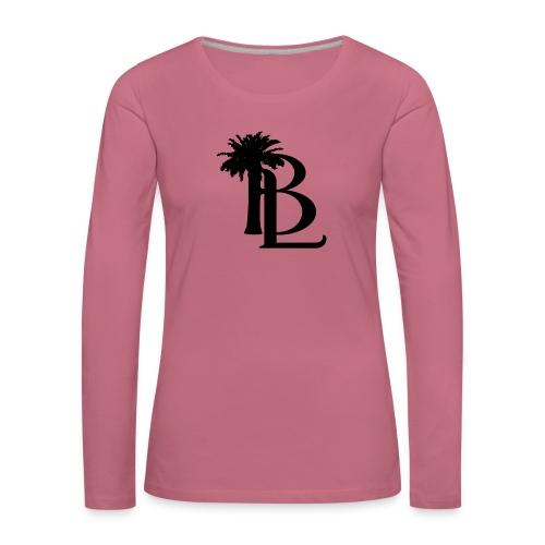 bllogo-png - Dame premium T-shirt med lange ærmer