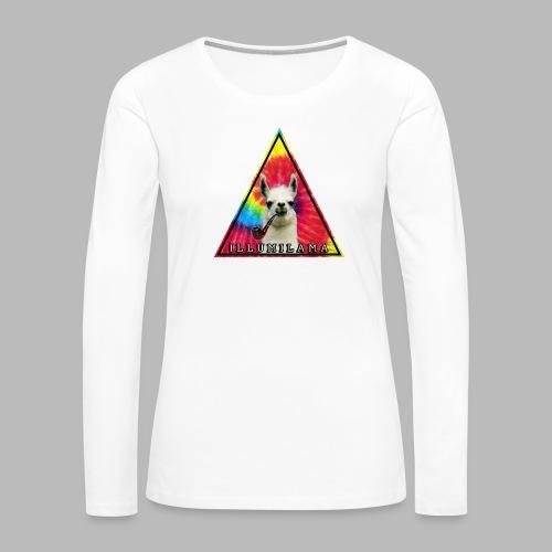 Illumilama logo T-shirt - Women's Premium Longsleeve Shirt