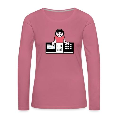 Ableto DJ - Vrouwen Premium shirt met lange mouwen