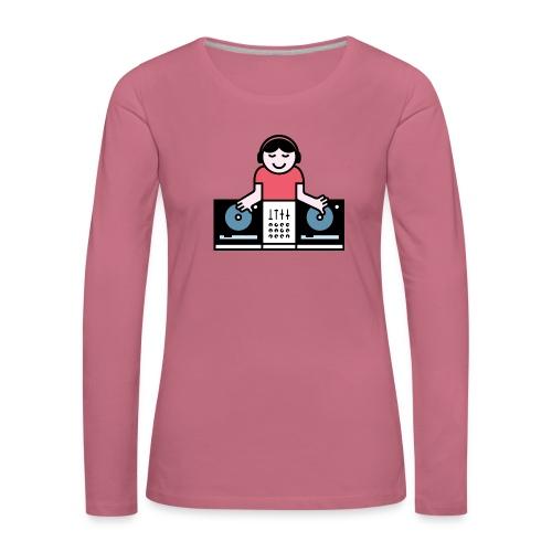 CDJ DJ - Vrouwen Premium shirt met lange mouwen