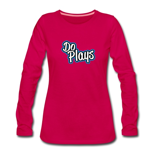 Kinderen Shirtje   DoPlays - Vrouwen Premium shirt met lange mouwen