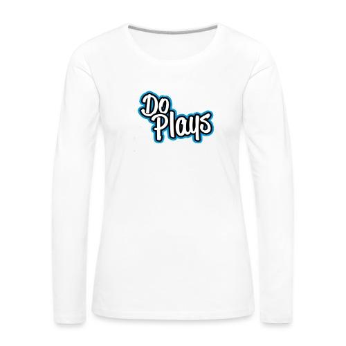 Mok   Doplays - Vrouwen Premium shirt met lange mouwen