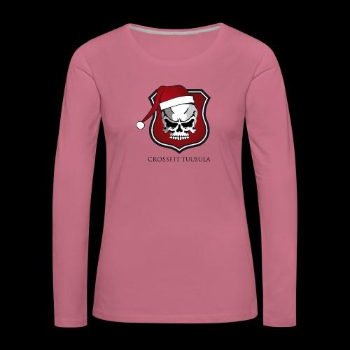 CrossFit Tuusula Xmas - Naisten premium pitkähihainen t-paita