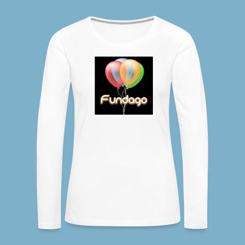 Fundago Ballon - Frauen Premium Langarmshirt