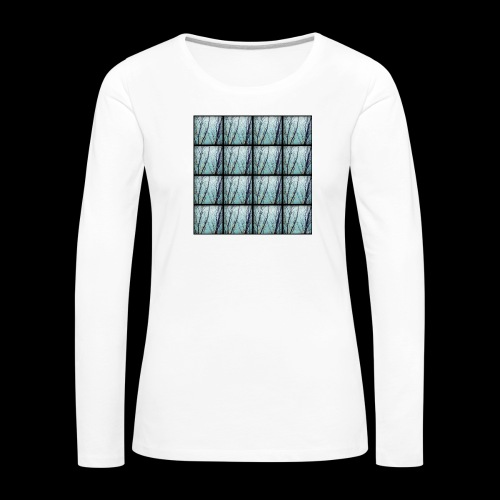Kangaskassi - Naisten premium pitkähihainen t-paita