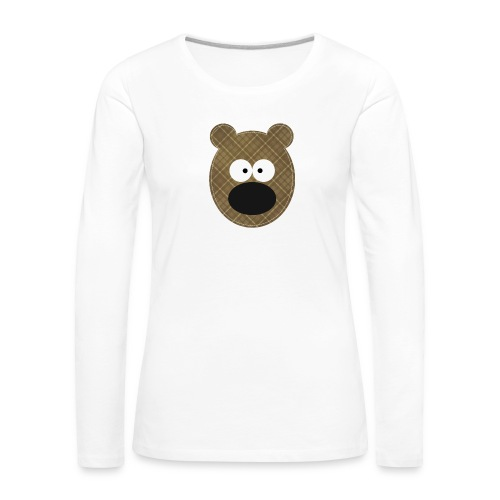 Little Bear - Maglietta Premium a manica lunga da donna