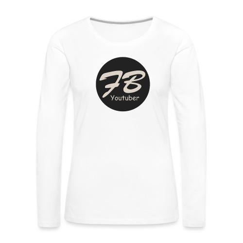TSHIRT-YOUTUBER - Vrouwen Premium shirt met lange mouwen