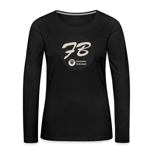 TSHIRT-INSTATUBER-NEDERLAND - Vrouwen Premium shirt met lange mouwen