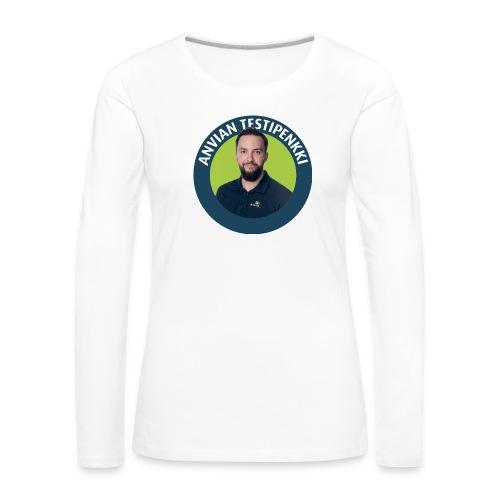 Tatun testipenkki! - Naisten premium pitkähihainen t-paita