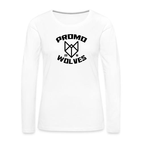 Big Promowolves longsleev - Vrouwen Premium shirt met lange mouwen