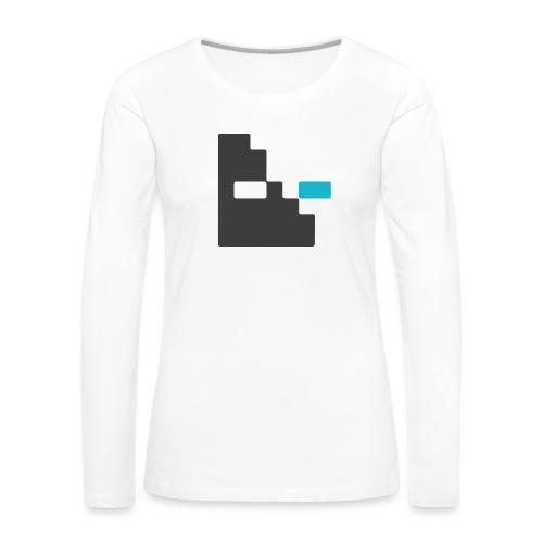 Mortu Logo - Vrouwen Premium shirt met lange mouwen
