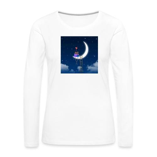 Topini in Love - Maglietta Premium a manica lunga da donna