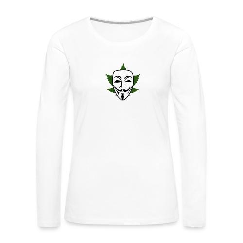 Anonymous - Vrouwen Premium shirt met lange mouwen
