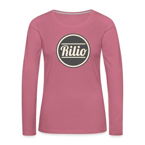 RILIO - Maglietta Premium a manica lunga da donna