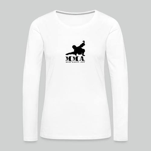 MMA Master - Frauen Premium Langarmshirt