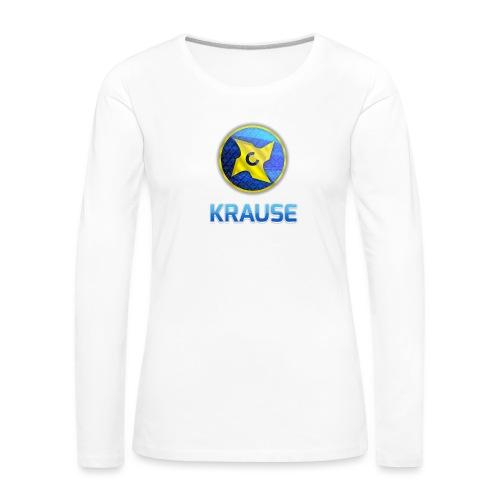 Krause shirt - Dame premium T-shirt med lange ærmer