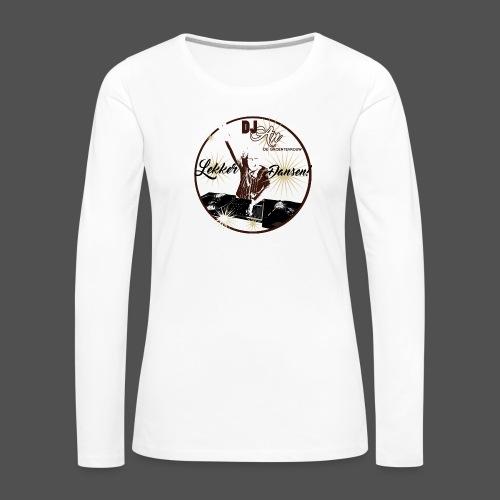 DJ An - Vrouwen Premium shirt met lange mouwen