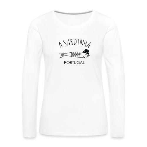 A Sardinha - Portugal - T-shirt manches longues Premium Femme