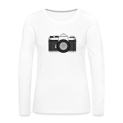 Shot Your Photo - Maglietta Premium a manica lunga da donna