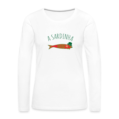 A Sardinha - Bandeira - T-shirt manches longues Premium Femme