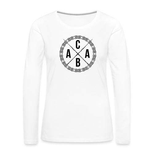 ACAB All Cyclists Are Beautiful - Frauen Premium Langarmshirt